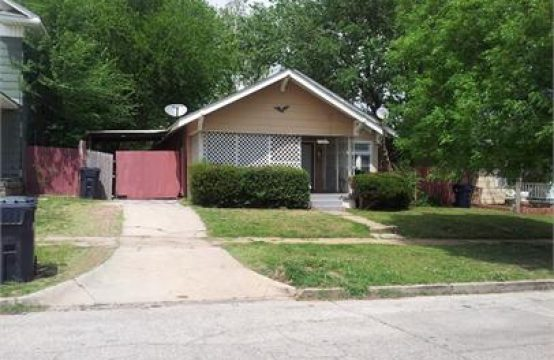 single family home 1805 NW 11th Oklahoma City, OK 73106